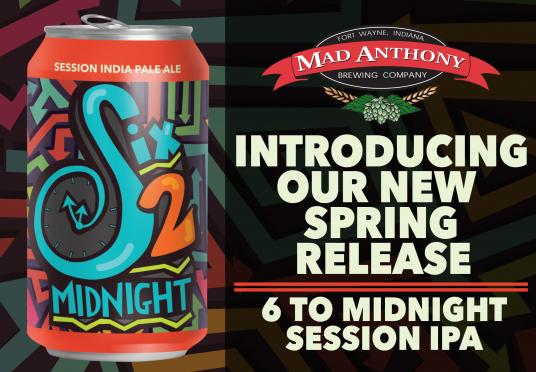 Session IPA Release in Cans